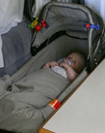 Slapen in de caravan